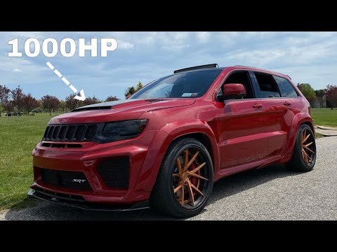 Trackhawk KILLER! Whippled, Built Motor, And Cammed Jeep SRT!