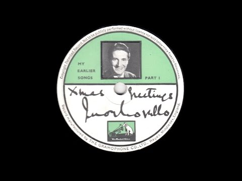 Ivor Novello  My Earlier Songs  1937