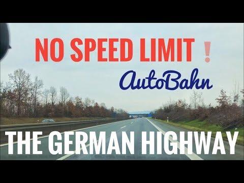 Die Autobahn - 185 kph in the German Highway Mp3