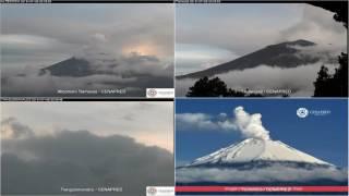 Popocatepetl - 20160726 - 18:00 a 23:59 hrs