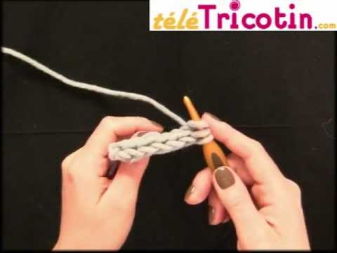 faire une cordelette, i-cord ou tube en crochet - youtube