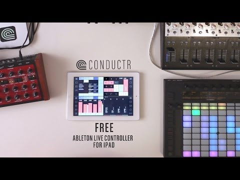 Conductr  |  Free Ableton Live controller for iPad