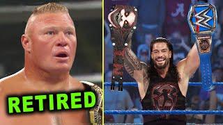 10 WWE RAW & SmackDown 2020 Rumors & Surprises - Brock Lesnar Retires