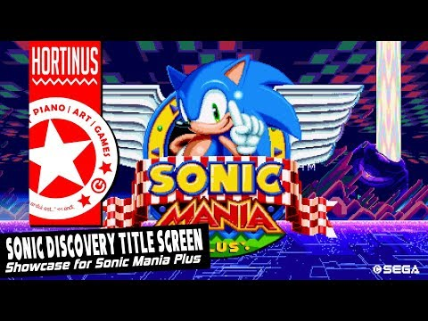 ✪ Sonic Discovery Title Screen (1080P @ 60FPS) ✪
