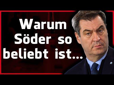 Warum Markus Söder so beliebt ist... (Rhetorik Analyse)
