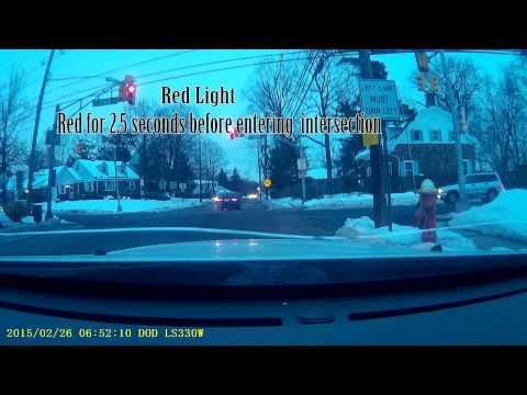 Red Light Runner in Maywood NJ
