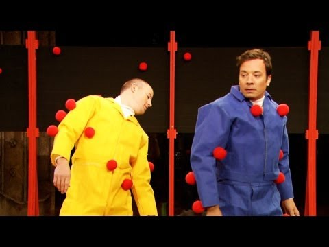 Sticky Balls with Channing Tatum (Late Night with Jimmy Fallon)