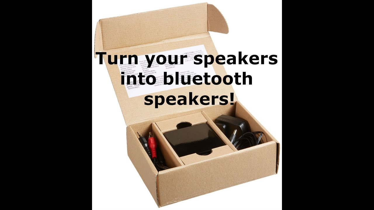 How to turn on the speakers
