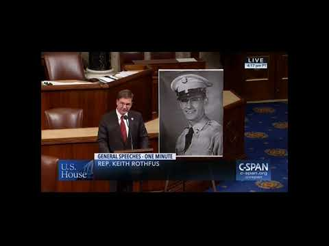 Rothfus recognizes the recovery and return of Corporal Daniel Kelly