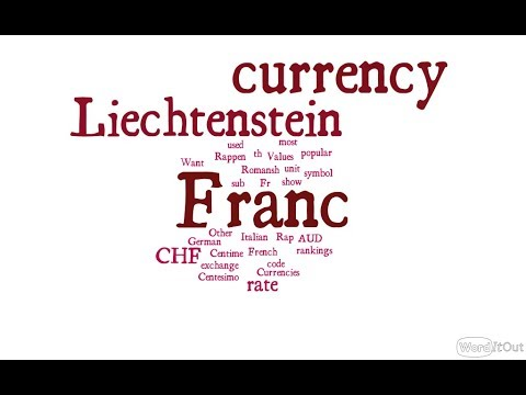 Liechtenstein Currency - Franc