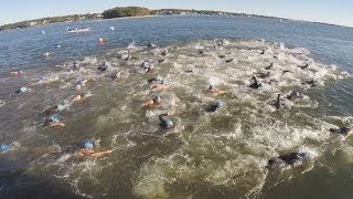 treasure island sprint triathlon duathlon aquabike race point pleasant nj 2014 at riverfront park