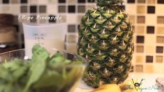 Tvn: Pina Colada Green Smoothie ( Using Rodelink )