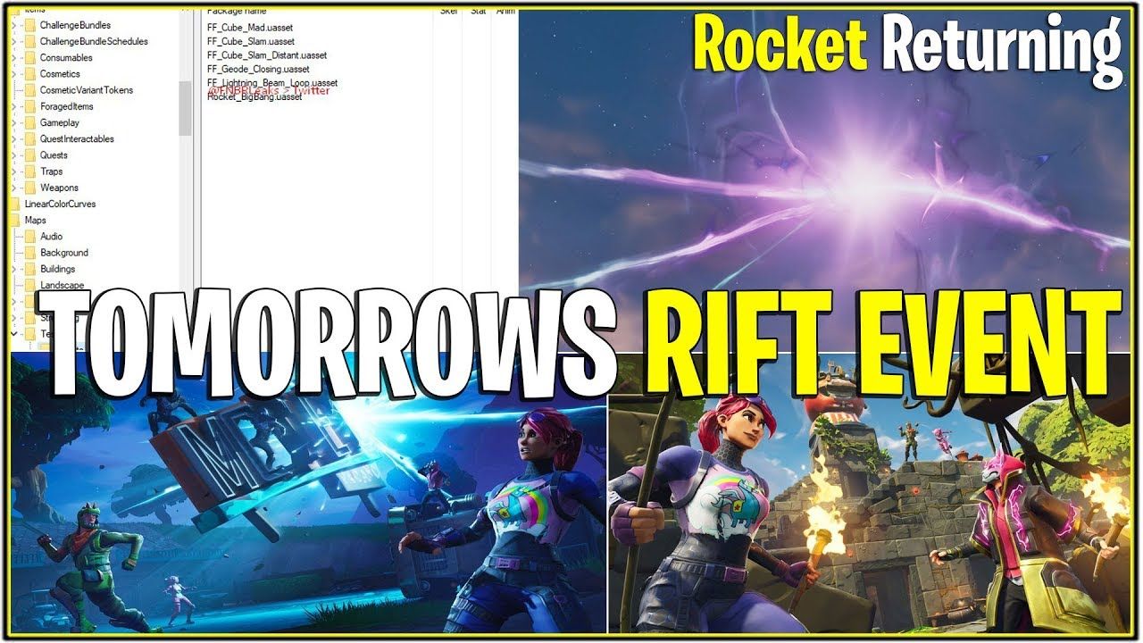 New Fortnite Leaked Massive Event Cube Rocket Event Leaked Sound Fx And More Youtube Fortnite chapter 2 season 3 is just a few hours away from starting with a huge new update. new fortnite leaked massive event cube rocket event leaked sound fx and more