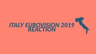 ITALY EUROVISION 2019 REACTION | MAHMOOD: SOLDI