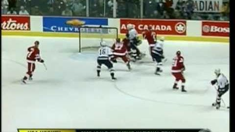 2002 Playoffs - Red Wings @ Canucks Game 4 (CBC)