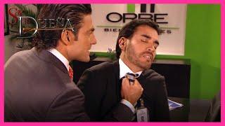 Soy tu dueña: José Miguel y Alonso pelean por el amor de Valentina | Escena - C 42