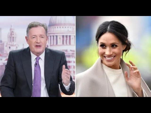 Piers Morgan l\'hypocrite laisse tomber Trump. Pourtant il critiquait Meghan Markle et Prince Harry.