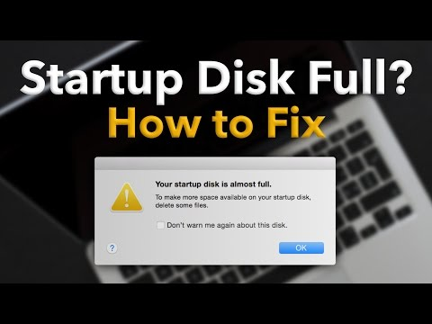 "Startup Disk Full on Mac? How to Fix (Delete ""Other"" space)"