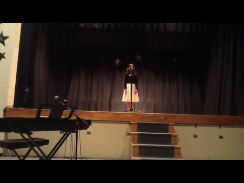 Leena Jalees at Wheatley school talent show on March 11 2016