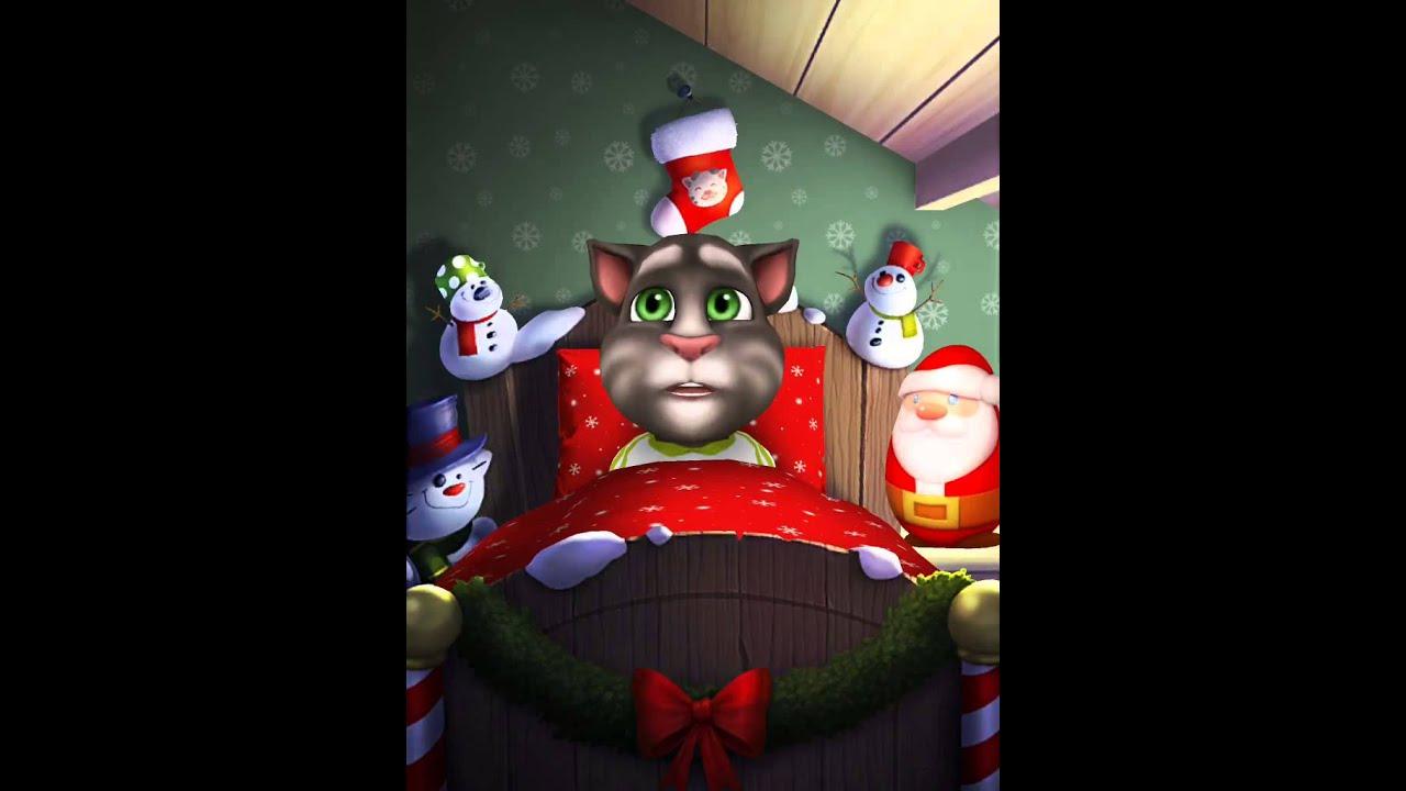 my talking tom tom le chat qui chante papa nol - Tom Le Chat