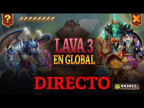DIRECTO   LAVA 3 EN GLOBAL (ganando siempre) - Castillo Furioso