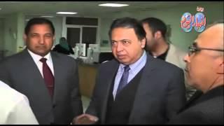 زيارة وزير الصحة لمحافظة الغربية وتفقد بعض مستشفيات طنطا