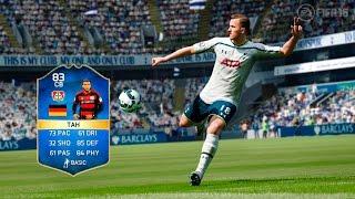 Fifa 16 TOTS Jonathan Tah Player Review | Ultimate Team