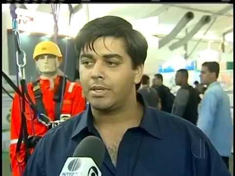 Quantidade de estrangeiros chama a atenção na Feira Brasil Offshore em Macaé, no RJ