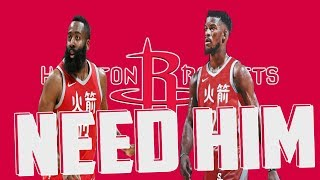 Why the Houston Rockets Need to Trade for Jimmy Butler!!!