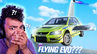 FLYING CAR in Need for Speed HEAT???