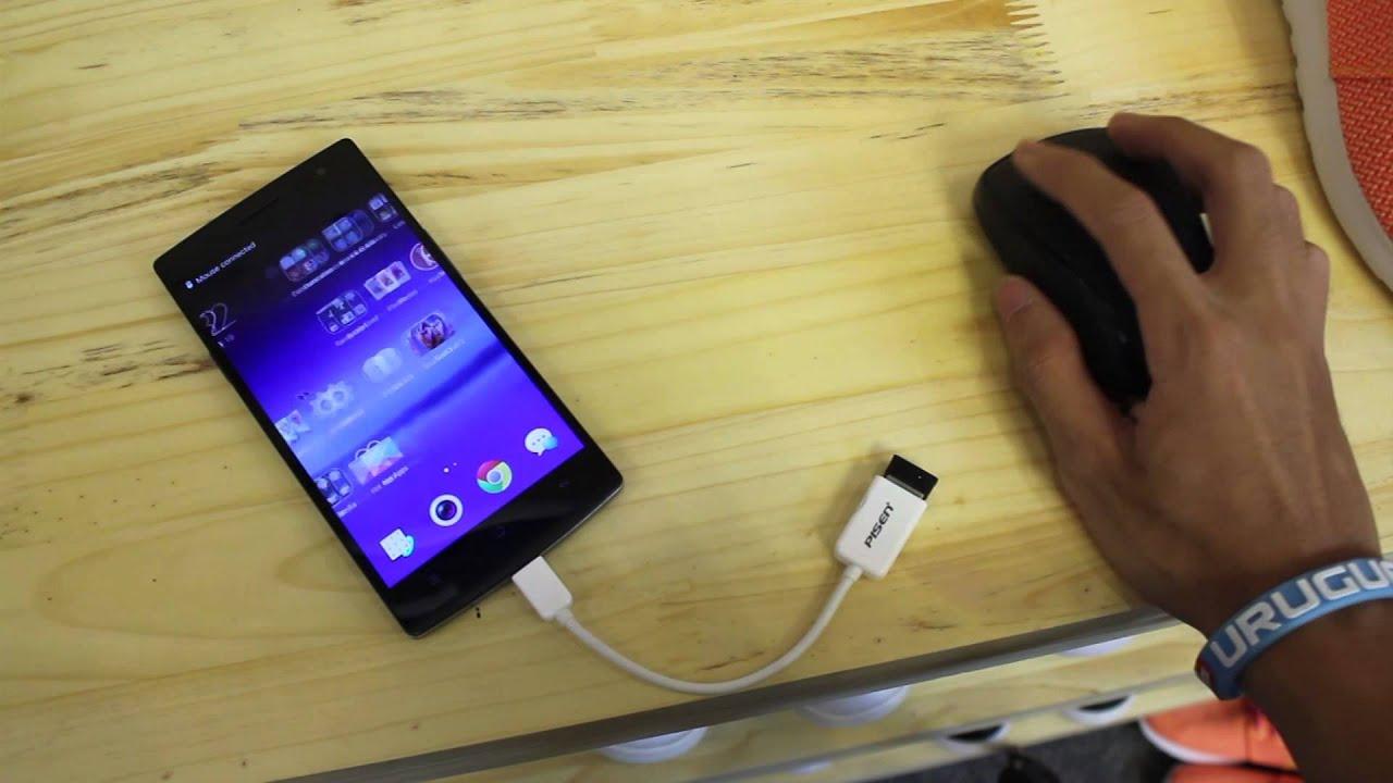 Kết nối Find 7/7a với USB, chuột, tay cầm chơi Game vv..