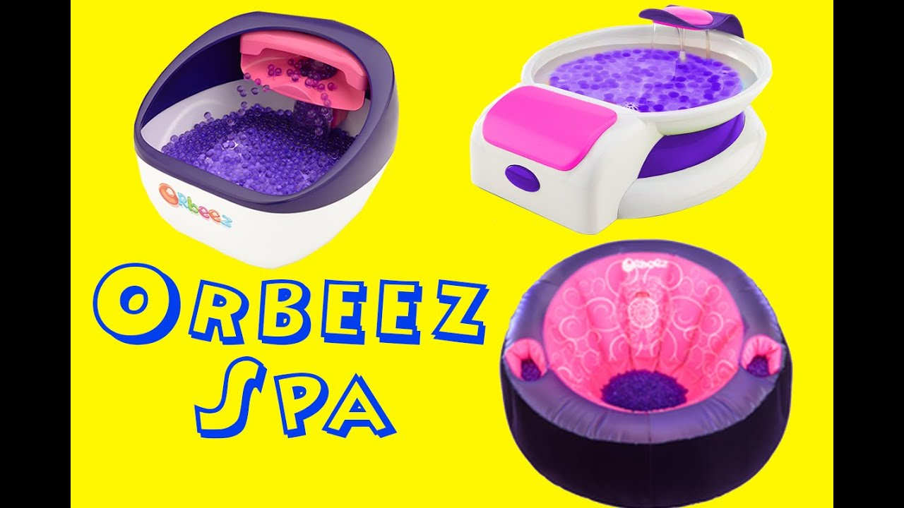 New Orbeez Soothing Foot Spa Amp Body Spa New York Toy