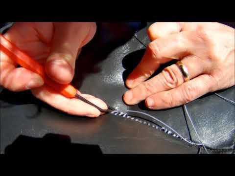 Repairing Ripped Car Seat Seam