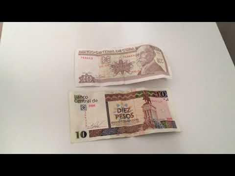 Cuban Peso Vs CUC