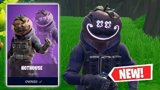NEW HOTHOUSE Skin Gameplay In Fortnite