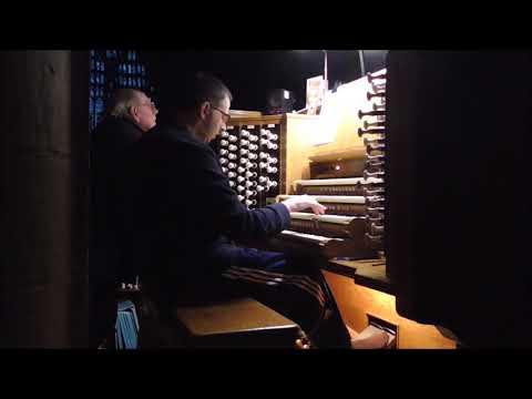 Beverley Minster Organ on the 24 9 17