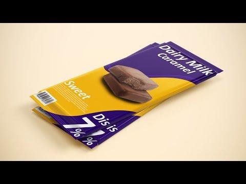 Chocolate Bar Packaging Design - Photoshop Tutorial thumbnail