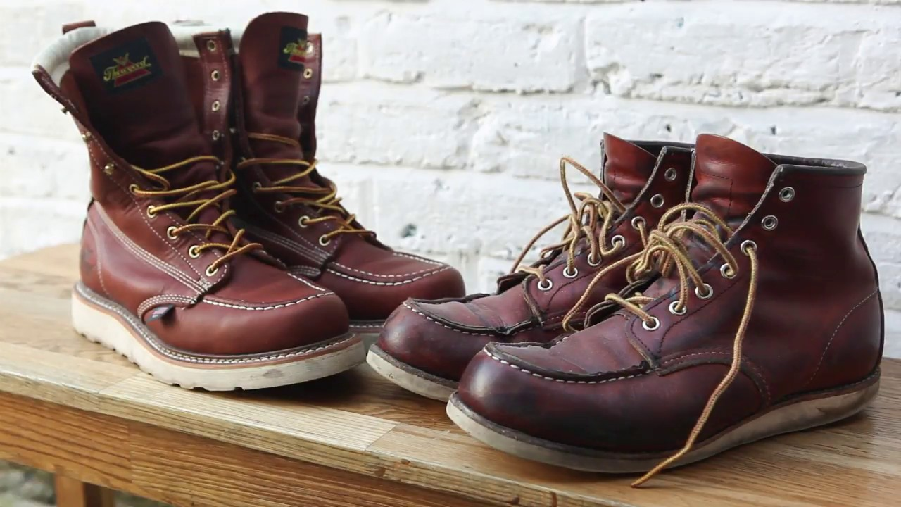 f7965008a65 Review - Red Wing 875 Boots X vs Thorogood Work Boots Reviewed