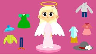 Мультики для девочек - Машины одёжки - Серия 9