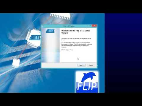 7-1 Firmware - Atmel Flip Asennus