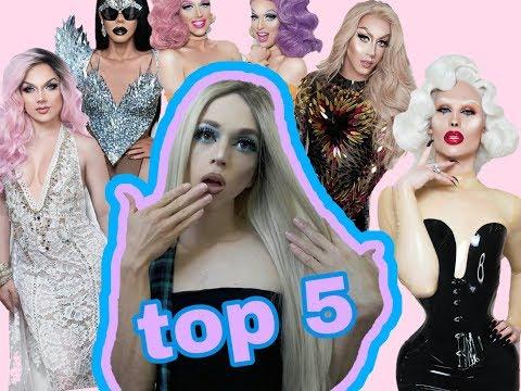 TOP 5 DRAG QUEEN  BRASILEIRA💚💛Estou bege