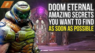 Doom Eternal Tips And Tricks - Amazing Secrets You Want To Find Early (Doom Eternal Secrets)