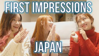 Japan First Impressions: The good and bad