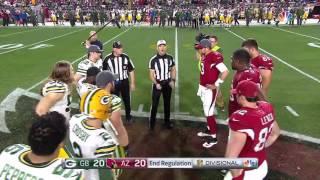 FAIL! Coin Toss Doesn't Flip For OT | Packers vs. Cardinals | NFL