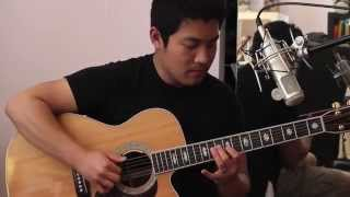 Happy (Pharrell Williams) - Solo Fingerstyle Acoustic Guitar Cover - Andrew Chae