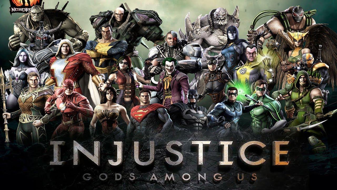 Скачать взлом Injustice: Gods Among Us …
