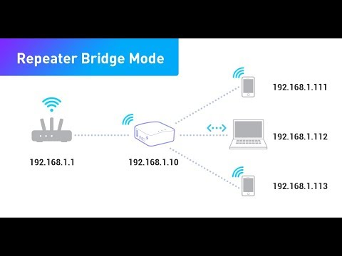 how to make a router as repeater