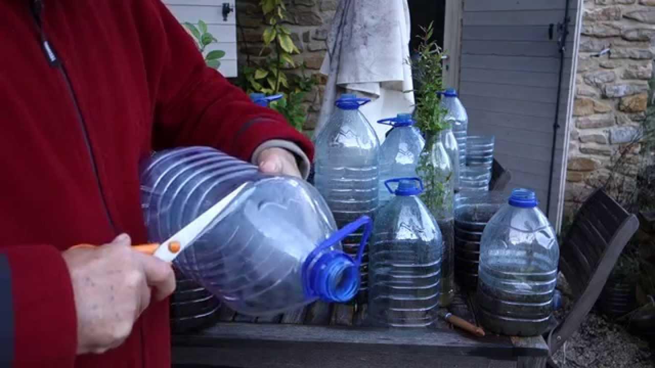 recycler des bouteilles en plastique en
