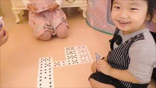 ★trump game sevens★ディズニープリンセスのトランプで「七並べ」優勝は誰だ?★ thumbnail