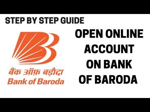 How to open bank of baroda account online | Open Bank of baroda account online